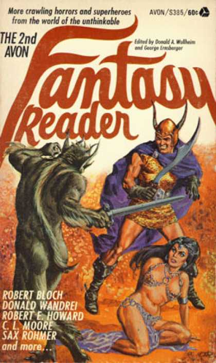Avon Books - The 2nd Avon Fantasy Reader