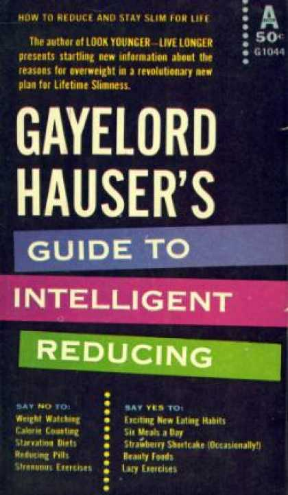 Avon Books - Gayelord Hauser's Guide to Intelligent Reducing