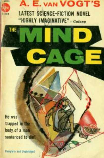 Avon Books - The Mind Cage - A. E. Van Vogt