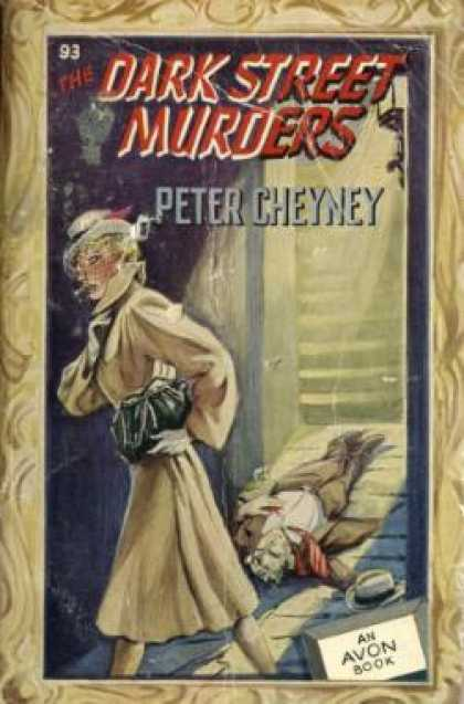 Avon Books - The Dark Street Murders - Peter Cheyney