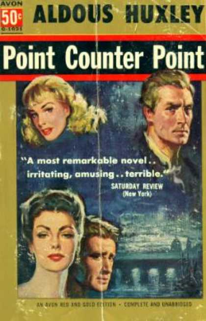 Avon Books - Point Counter Point - Aldous Huxley