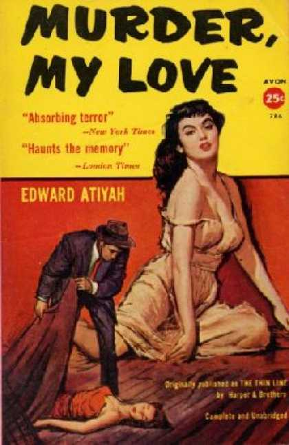 Avon Books - Murder, My Love - Edward Atiyah