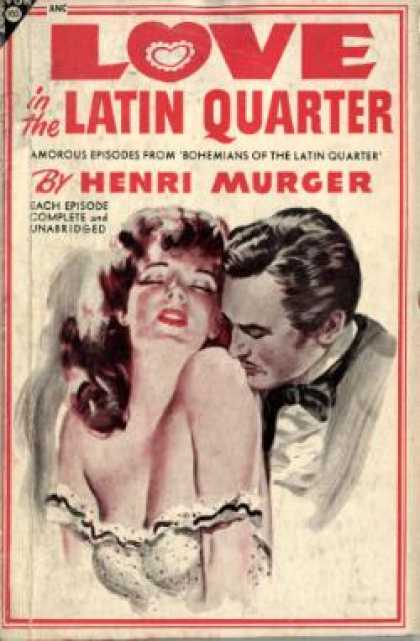 Avon Books - Love In the Latin Quarter: Amorous Episodes From Bohemians of the Latin Quarter