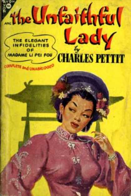 Avon Books - The Unfaithful Lady - Charles Pettit