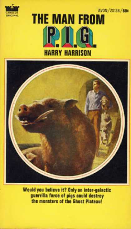 Avon Books - The Man From P.i.g. - Harry Harrison