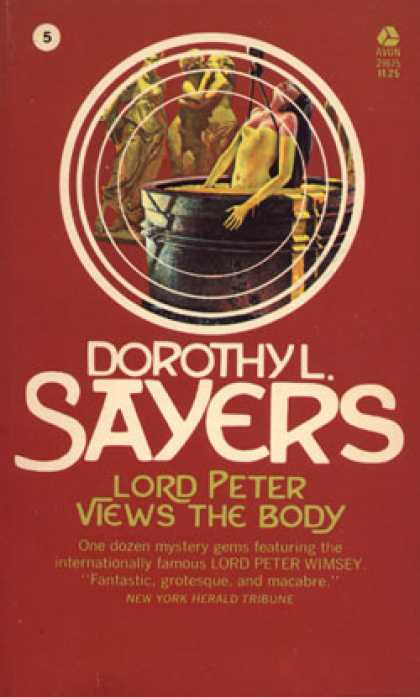 Avon Books - Lord Peter Views the Body