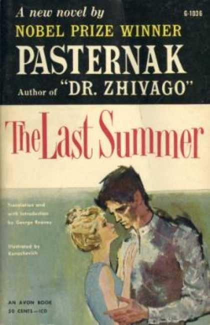 Avon Books - The Last Summer - Boris Pasternak
