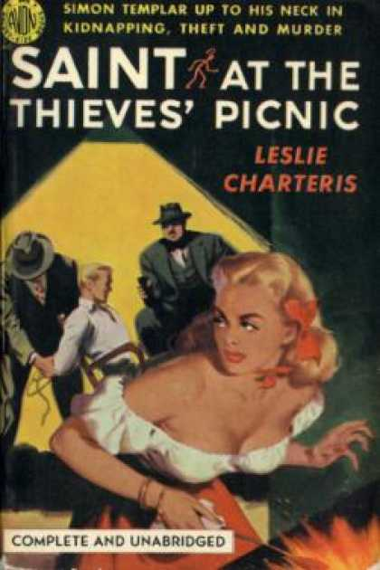 Avon Books - The Saint at the Thieves' Picnic