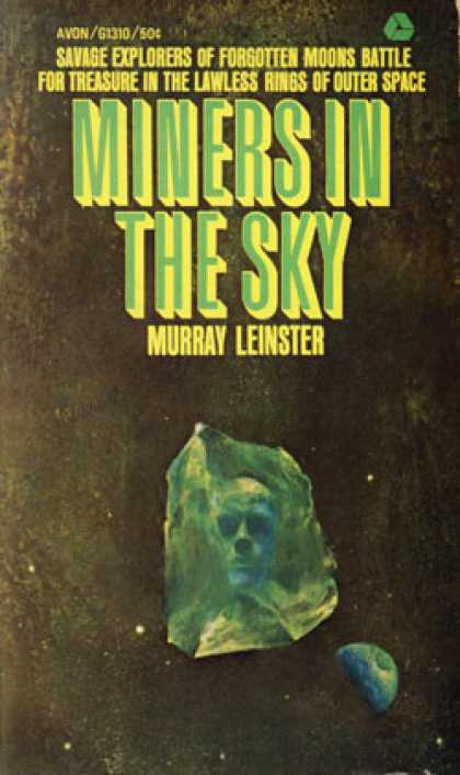 Avon Books - Miners In the Sky - Murray Leinster