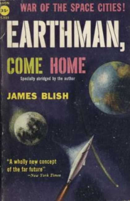 Avon Books - Earthman Come Home - James Blish