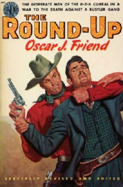 Avon Books - The Round-up - Oscar D. Friend
