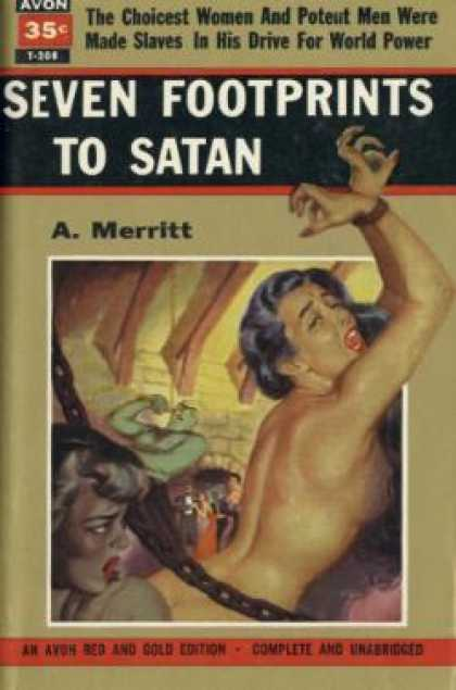 Avon Books - Seven Footprints To Satan - A. Merritt