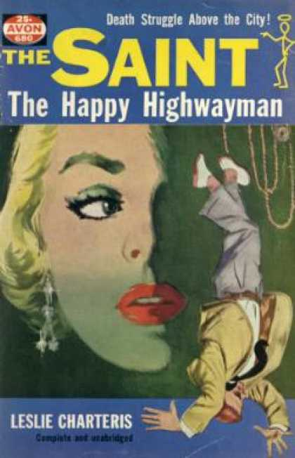 Avon Books - The Saint: The Happy Highwayman - Leslie Charteris