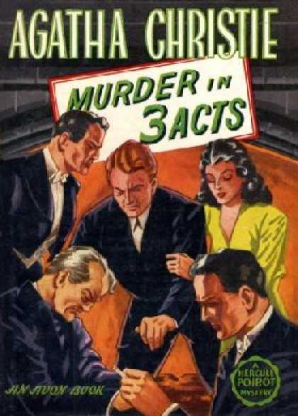 Avon Books - Murder In 3 Acts - Agatha Christie