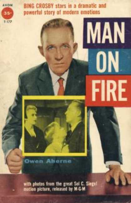 Avon Books - Man On Fire - Owen Aherne
