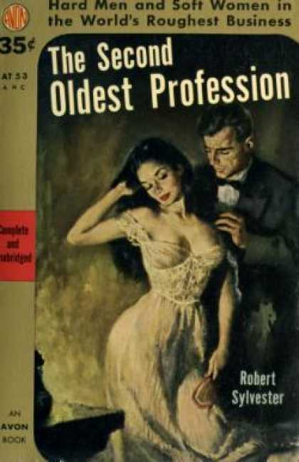 Avon Books - The Second Oldest Profession - Robert Sylvester
