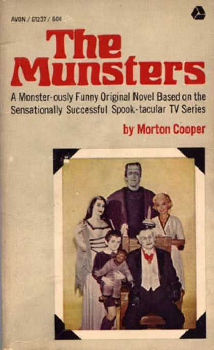 Avon Books - The Munsters - Morton Cooper