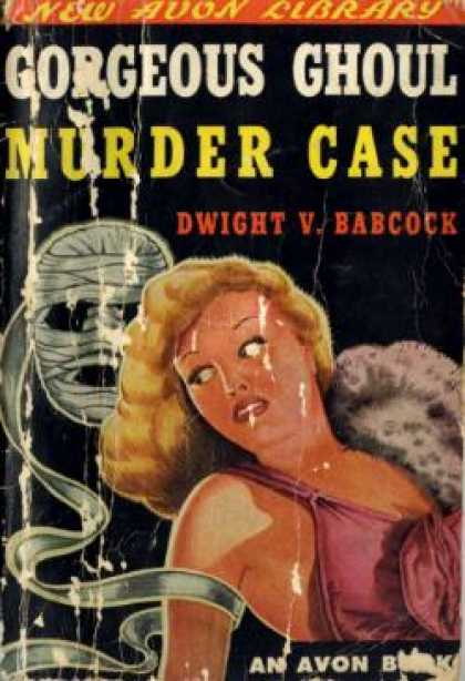 Avon Books - Gorgeous Ghoul Murder Case - Dwight Babcock