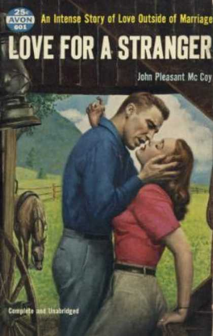 Avon Books - Love for a Stranger - John Pleasant Mccoy