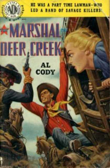 Avon Books - The Marshal of Deer Creek - Al Cody