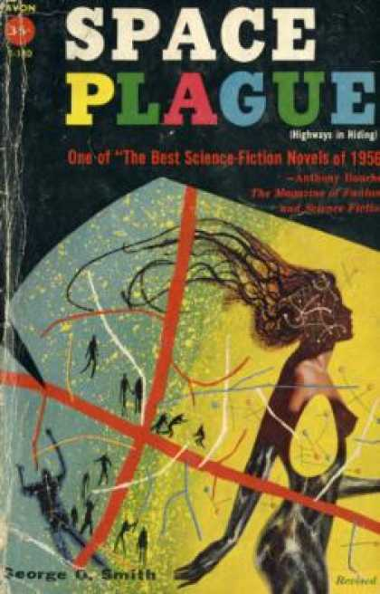 Avon Books - Space Plague (avon T-180) - George O. Smith
