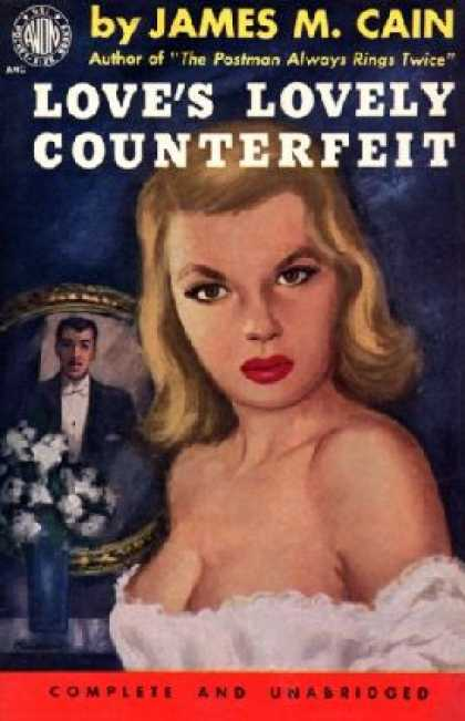 Avon Books - The Case of the Counterfei - James M. Cain