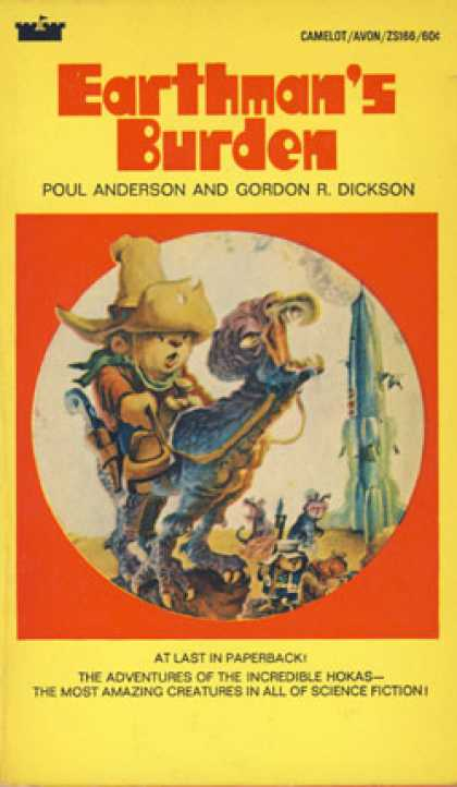 Avon Books - Earthman's Burden - Paul; Dickson, Gordon Rupert Anderson