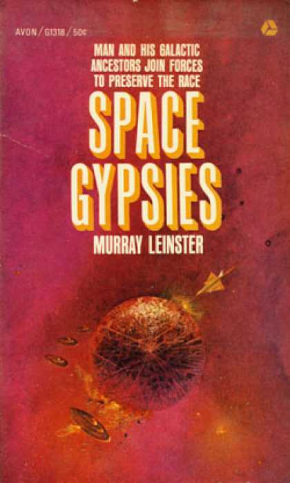 Avon Books - Space Gypsies - Murray Leinster