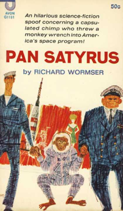 Avon Books - Pan Satyrus - Richard Wormser