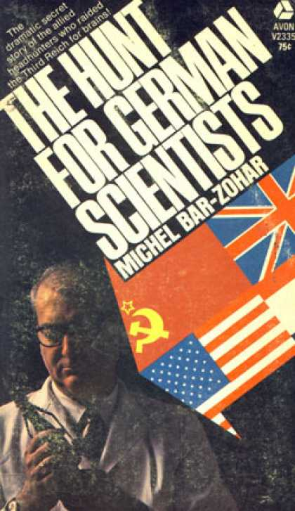 Avon Books - The Hunt for German Scientists - Michael Bar-zohar