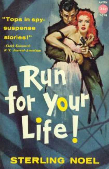 Avon Books - Run for Your Life!