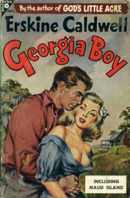 Avon Books - Stories From Georgia Boy and Maud Island - Erskine Caldwell