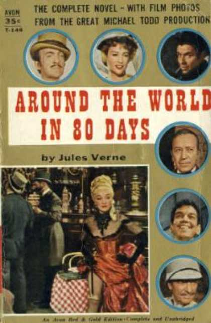Avon Books - Around the World In 80 Days - Jules Verne