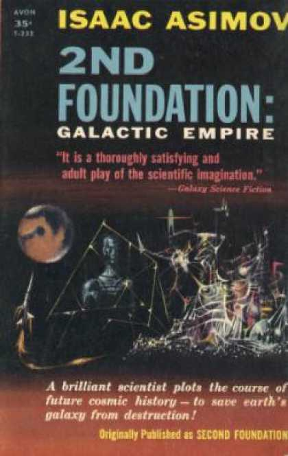 Avon Books - 2nd Foundation, Galactic Empire: Avon T-232 - Isaac Asimov