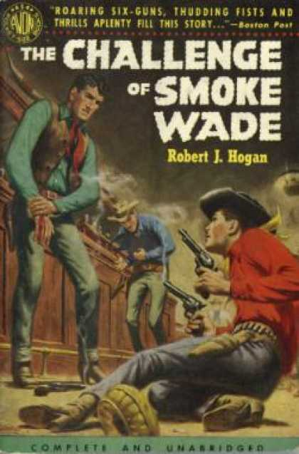 Avon Books - The Challenge of Smoke Wade - Robert J. Hogan