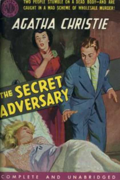 Avon Books - The Secret Adversary - Agatha Christie