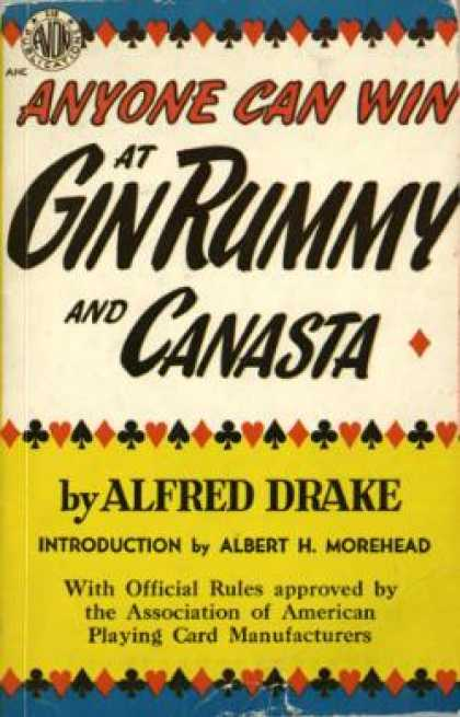 Avon Books - Anyone Can Win at Gin Rummy and Canasta - Alfred Drake