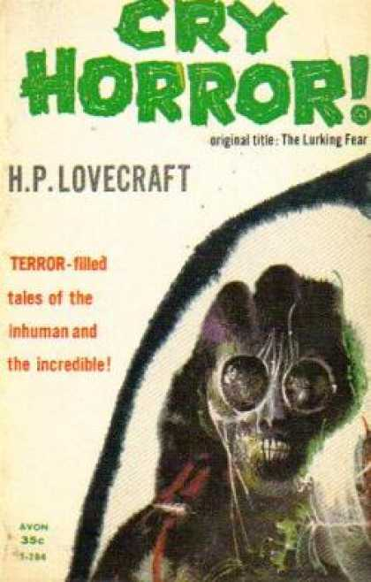Avon Books - Cry Horror!: (avon) - H. P Lovecraft