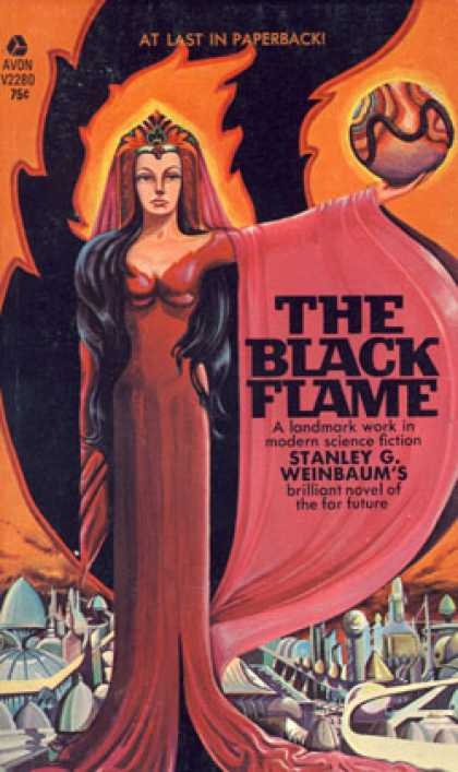 Avon Books - The Black Flame