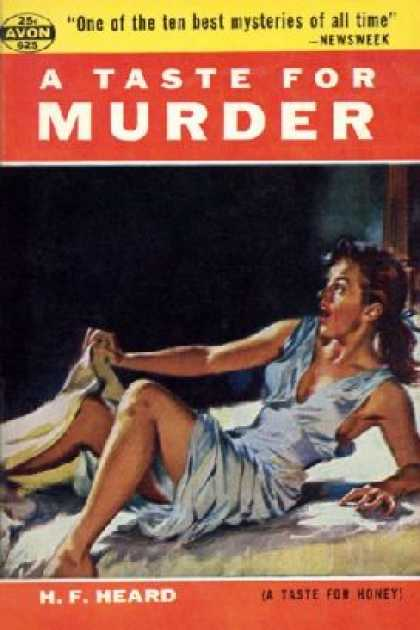 Avon Books - A Taste for Murder. - H. F. Heard