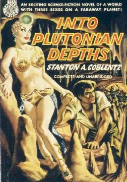 Avon Books - Into Plutonian Depths - Stanton Arthur Coblentz