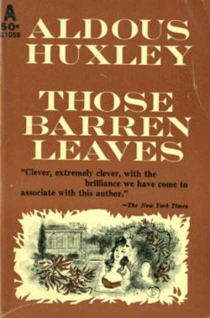 Avon Books - Those Barren Leaves - Aldous Huxley