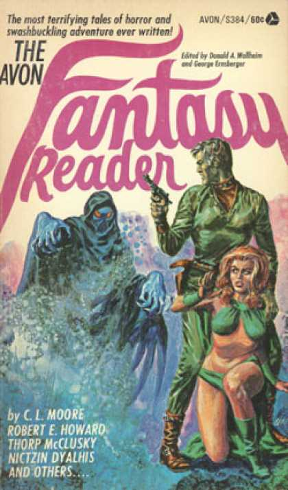 Avon Books - The Avon Fantasy Reader - Donald A. and George Ernsberger Wollheim