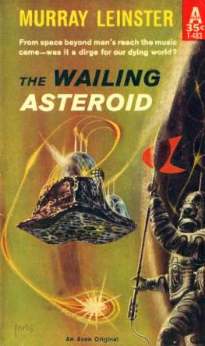 Avon Books - The Wailing Asteroid - Murray Leinster