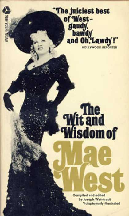 Avon Books - The Wit and Wisdom of Mae West - Joseph Weintraub
