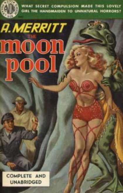 Avon Books - The Moon Pool. - A. Merritt