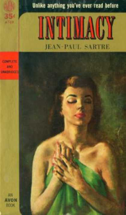 Avon Books - Intimacy, and Other Stories - Jean Paul Sartre