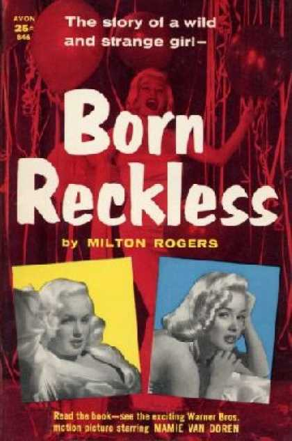 Avon Books - Born Reckless - Milton Rogers