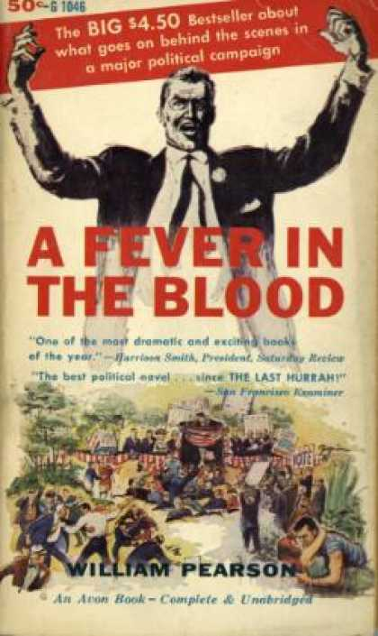 Avon Books - A Fever In the Blood - William Pearson