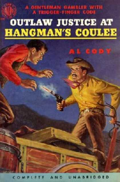 Avon Books - Outlaw Justice at Hangman's Coulee - Al Cody